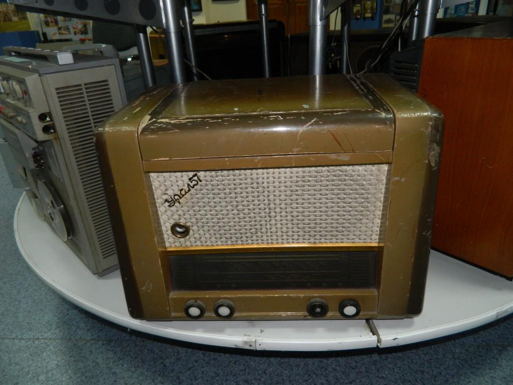 Урал не только позволял слушать радио, но и пластинки