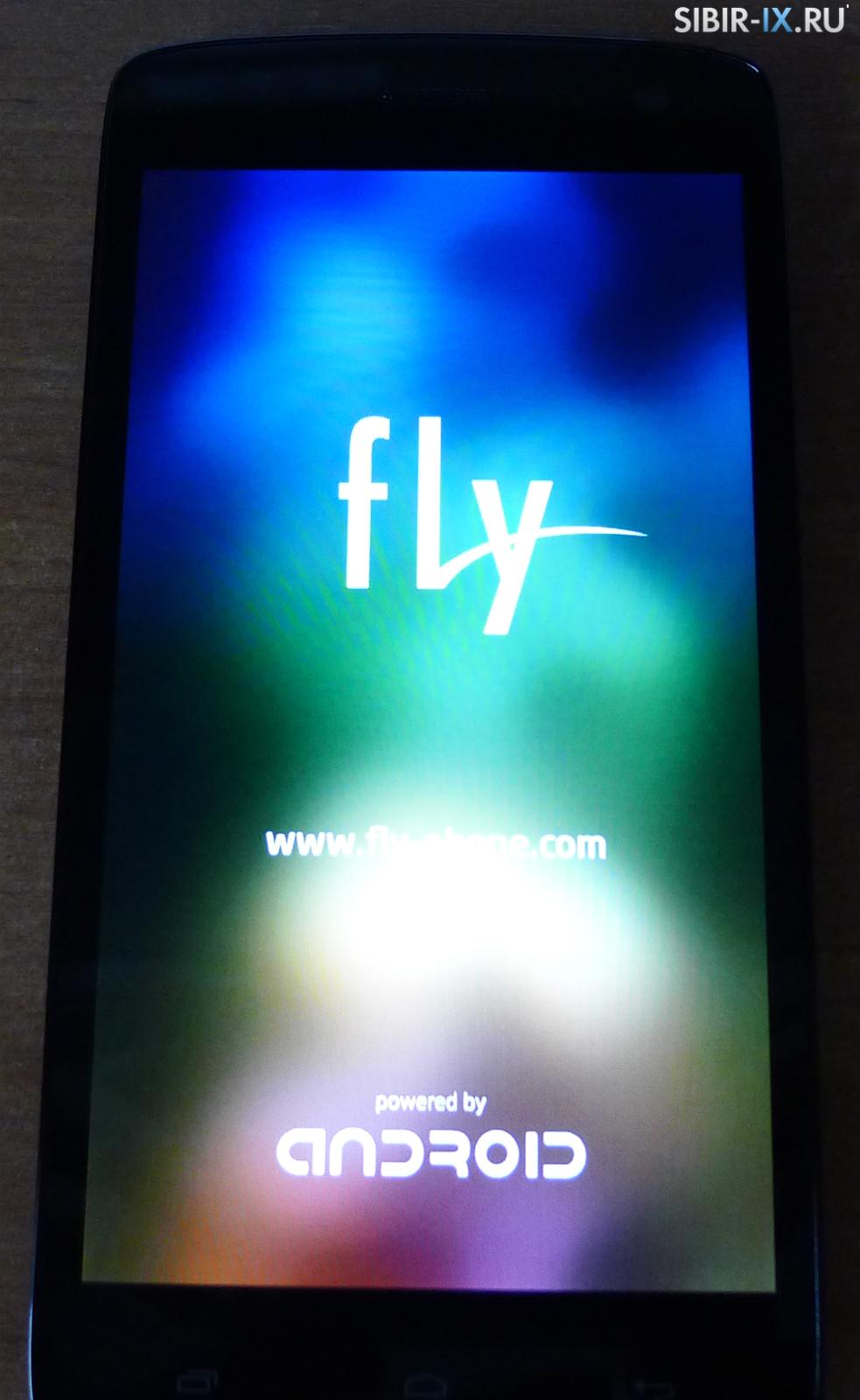 Экран Fly era Life 6