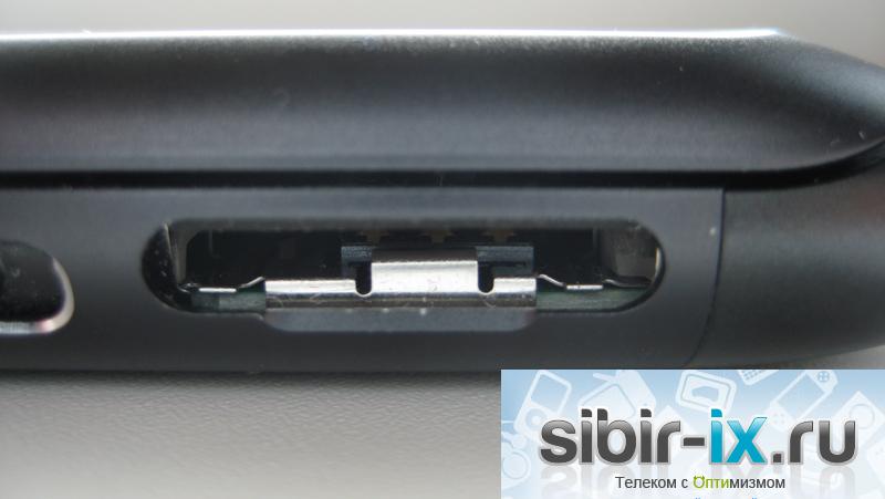 Nokia E7 слот для сим-карты