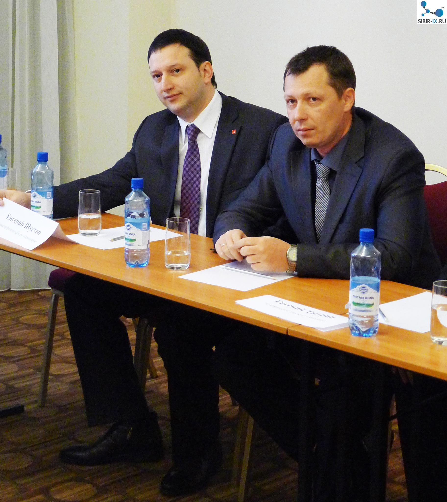 Евгений Шустов и Алексей Федотов