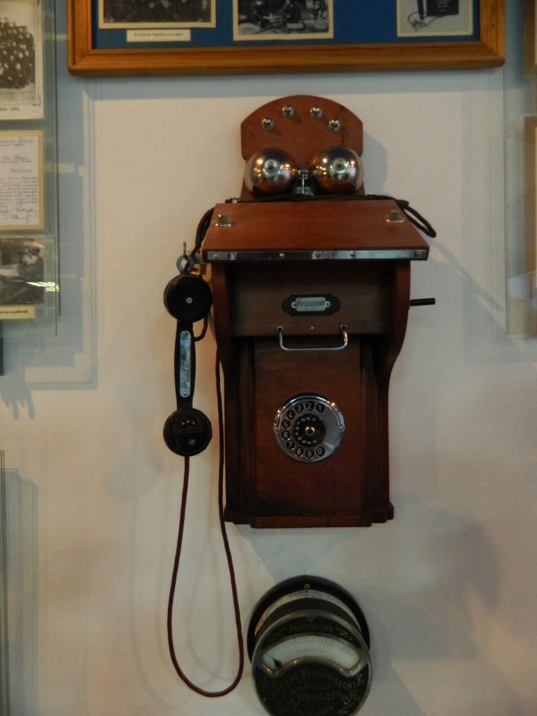Первый телефон в Красноярске